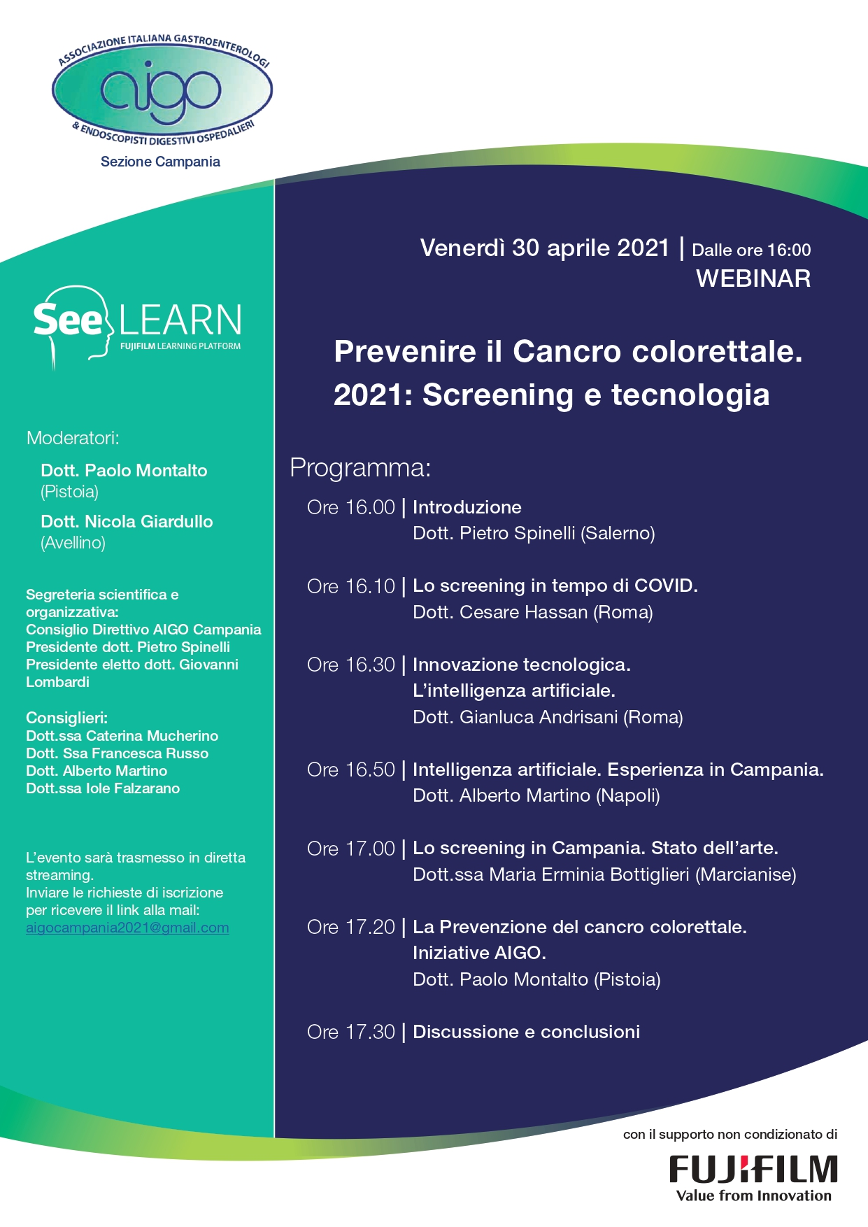 Prevenire il cancro colorettale. 2021: Screening e tecnologia